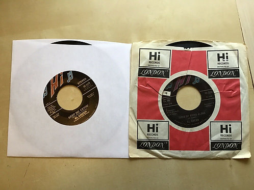 Al Green Tired Of Being Alone/Get Back Baby in ORIG HI SLEEVE+ Keep Me Cryin' 45