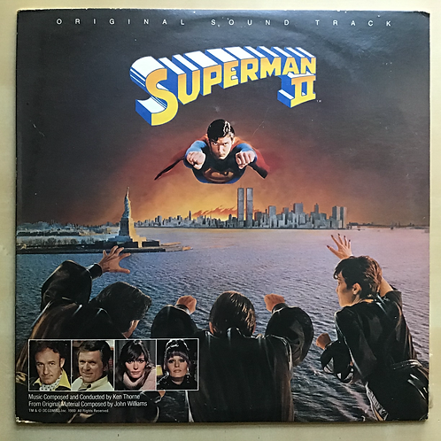 Superman II OMP Soundtrack LP