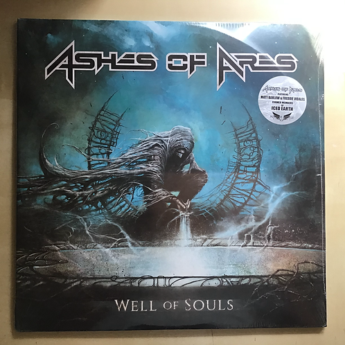"""Ashes of Ares """"Well of Souls"""" 2xLP"""