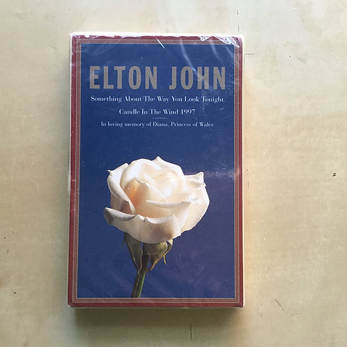ELTON JOHN-Something About the Way You Look Tonight,Candle in the Wind. Cassette