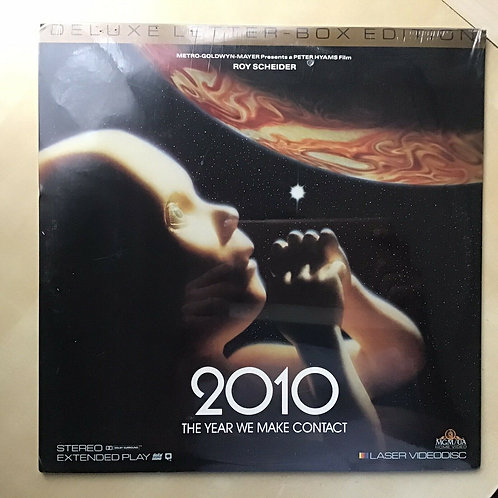 2010: The Year We Make Contact Deluxe Letterbox Edition Laserdisc LD Sealed