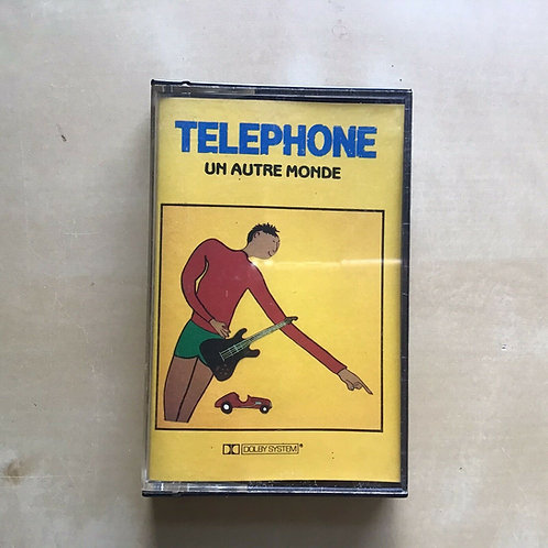 TELEPHONE Un autre monde 50248 French 1st Pressing on Cassette