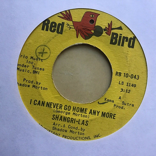 Shangri-Las - I Can Never Go Home Anymore / Bull Dog - 45 RPM 1st