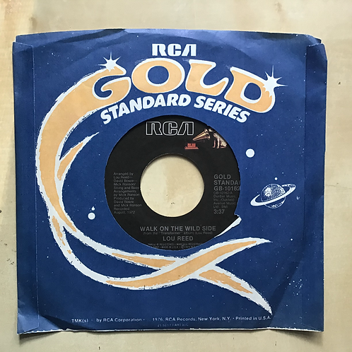 """Lou Reed """"Walk on the Wild Side/Vicious"""" 45"""