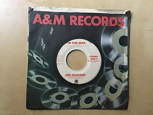 JOE JACKSON ~ I'M THE MAN ~ A&M PROMO #2209