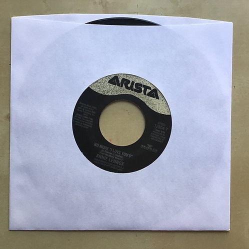 "ANNIE LENNOX NO MORE ""I LOVE YOU'S"" ~ Ladies of the Canyon 45 RPM VINYL"