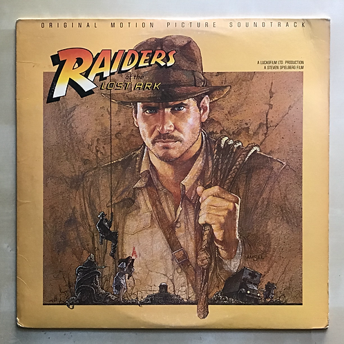 Raiders of the Lost Ark OMP Soundtrack LP 1st US 1981
