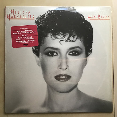 Melissa Manchester-Hey Ricky-Original 1982 LP Record Album in Shrink w/ hype