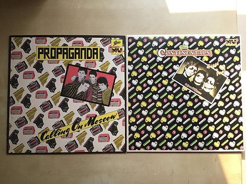 "10"" Nu Disk Bundle: Nu Disk Propaganda & The Continentals, EX / EX"