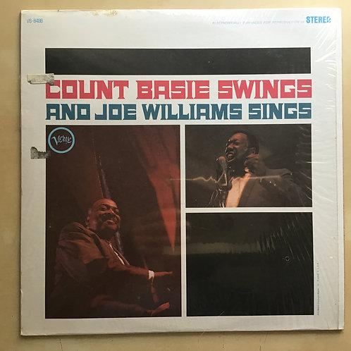 Count Basie Swings Joe Williams Sings -Jazz LP Verve V6-8488 in shrink