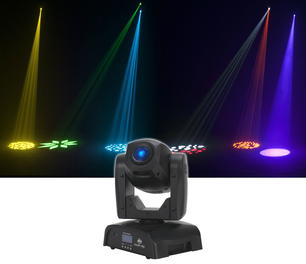 MULTI COLOR DESIGNING MOVING HEAD