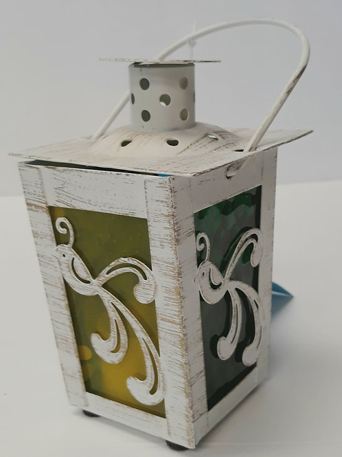 Birds Stained Glass Lanterns