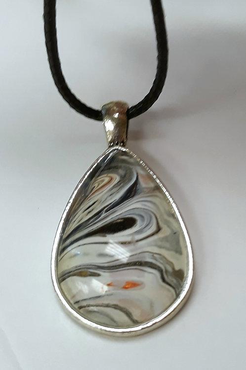 copy of Acrylic Pour Necklaces (oblong)