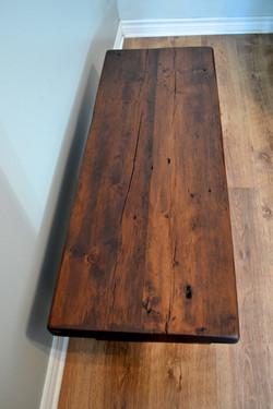Barnboard pine bench 2