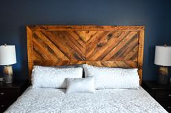 Barnboard bed