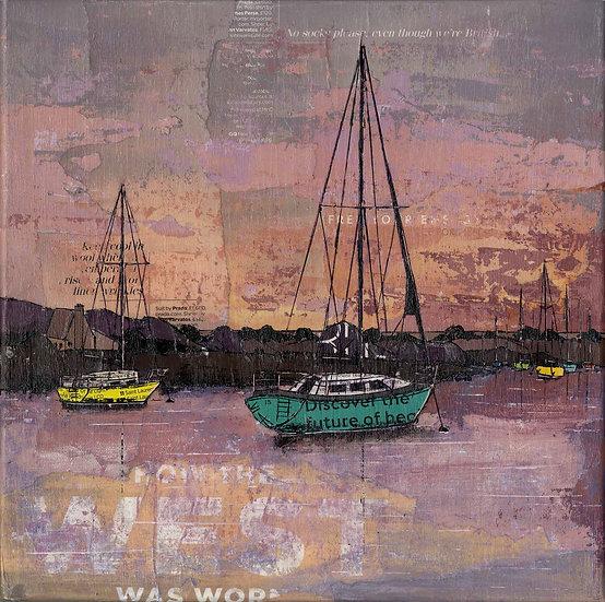 Harbour Sunset, Topsham