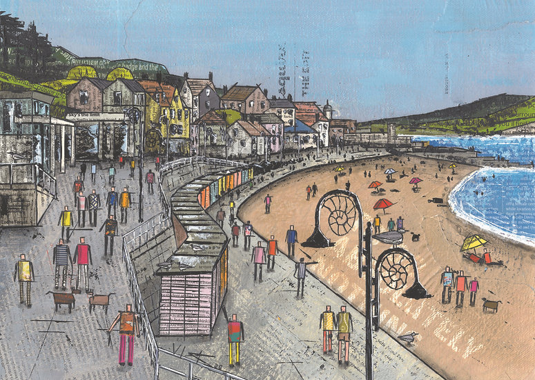 To Do Absolutely Nothing, Lyme Regis
