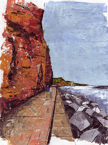 Undercliff Walk, Sidmouth