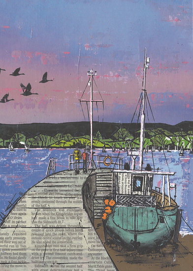 The Harbour Jetty, Lympstone
