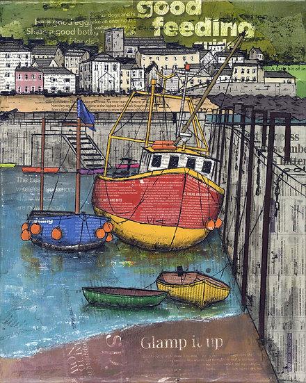 Restful Boats, Lyme Regis