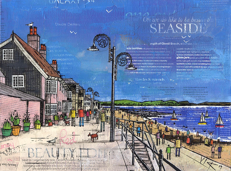 Oh We Do Like To Be Beside The Seaside, Lyme Regis