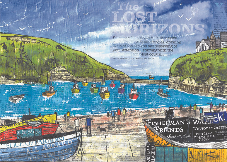 The Lost Horizons, Port Isaac