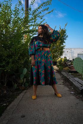 Birdie vintage floral dress