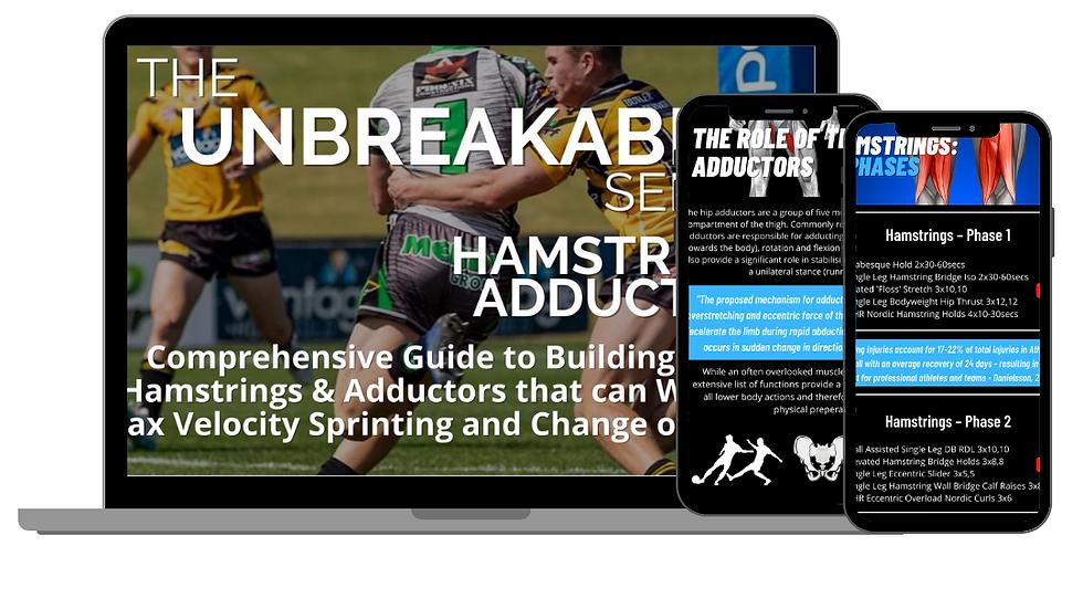 Unbreakable Series- Hamstring + Adductor