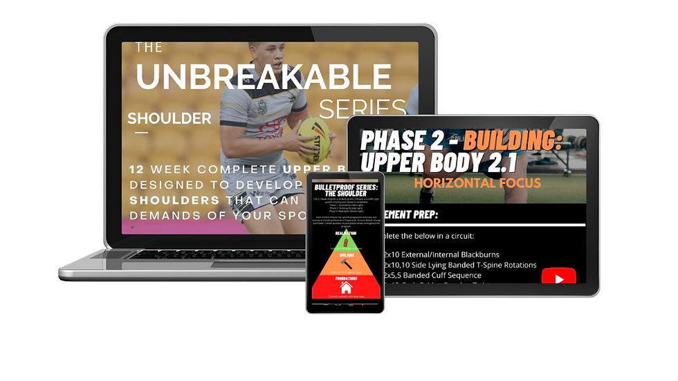 Unbreakable Series- Shoulder