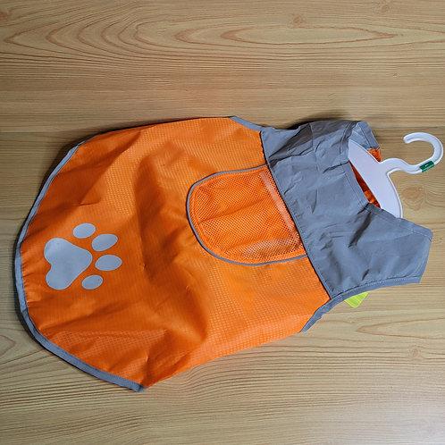 Large Orange Dog Coat