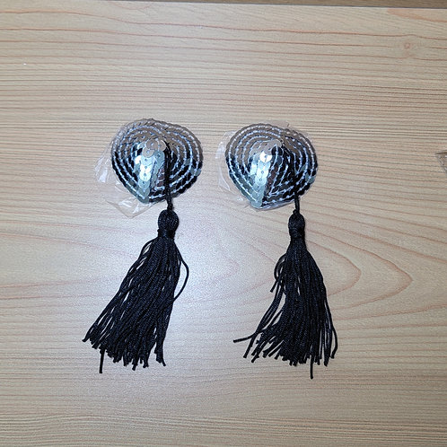 Silver Nipple Covers