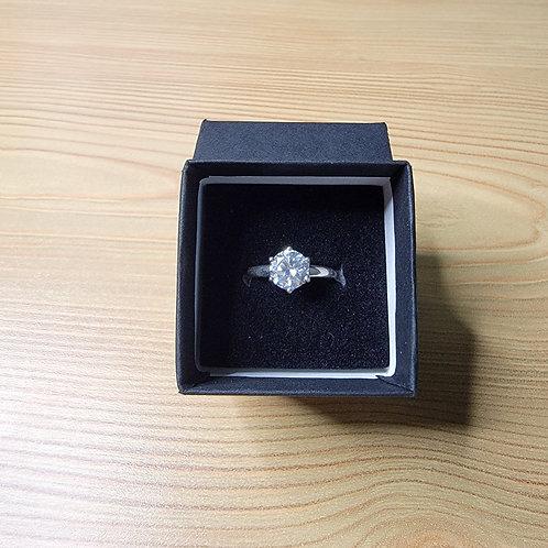 Cubic Zirconia Ring, 6