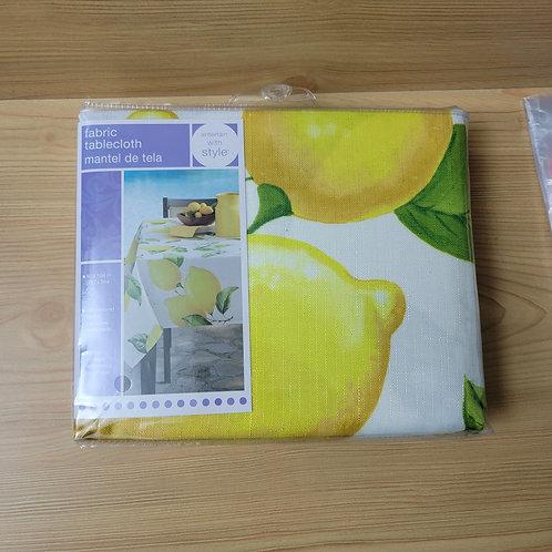 Lemon Tablecloth, 60x104