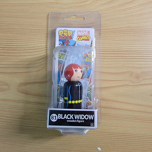 Black Widow Wooden Figure