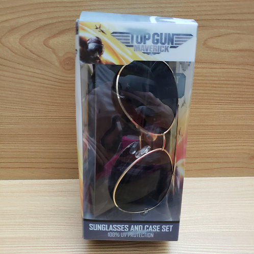 Top gun Glasses and Case