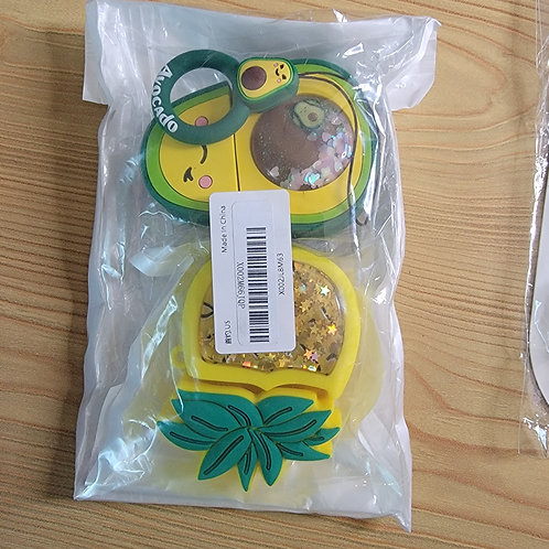 Pineapple and Alvacado Airpod Cases