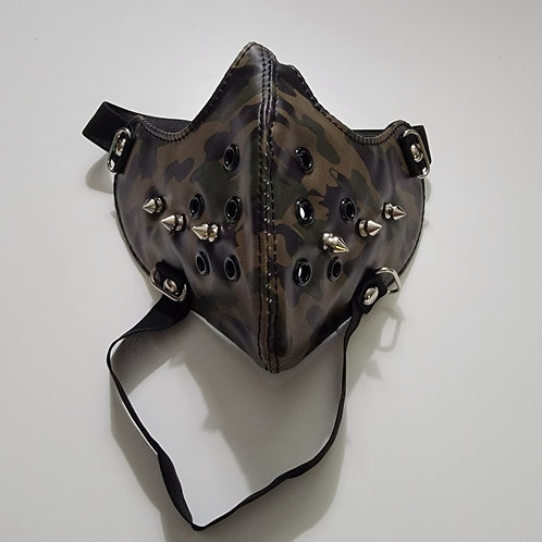 Spiked Tactical Mask