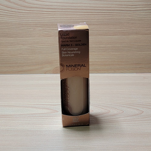 Mineral Fusion Foundation, Warm Golden