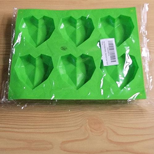 Green Heart Silicone Mold