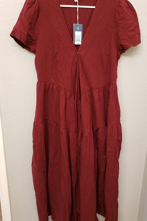 Red overshirt/dress