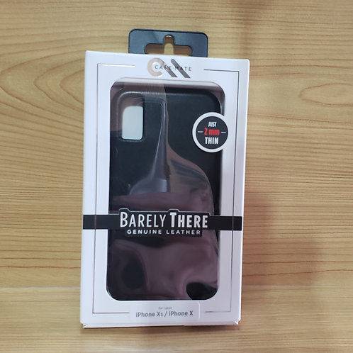 Casemate Barely There Leather Iphone X / Xs Case