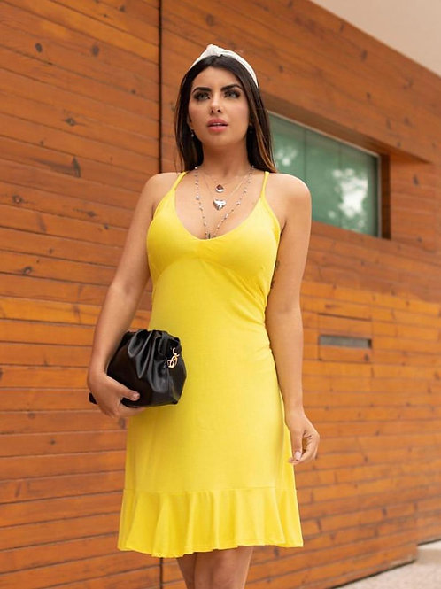 Vestido Malha Poliamida