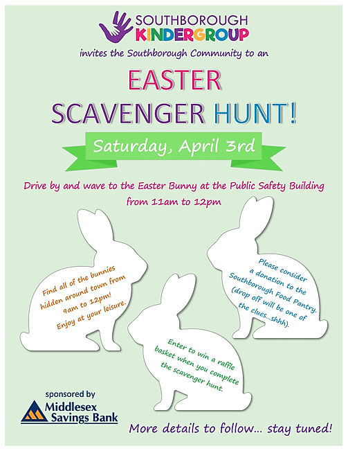 Kindergroup easter egg hunt 2021 Flyer_F