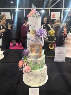 Midsomer Nights dream Cake Internation Bronze Award