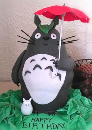 My Neighbour Totoro Carved Cake