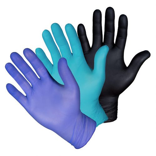 Nitrile Gloves (10 boxes of 100)