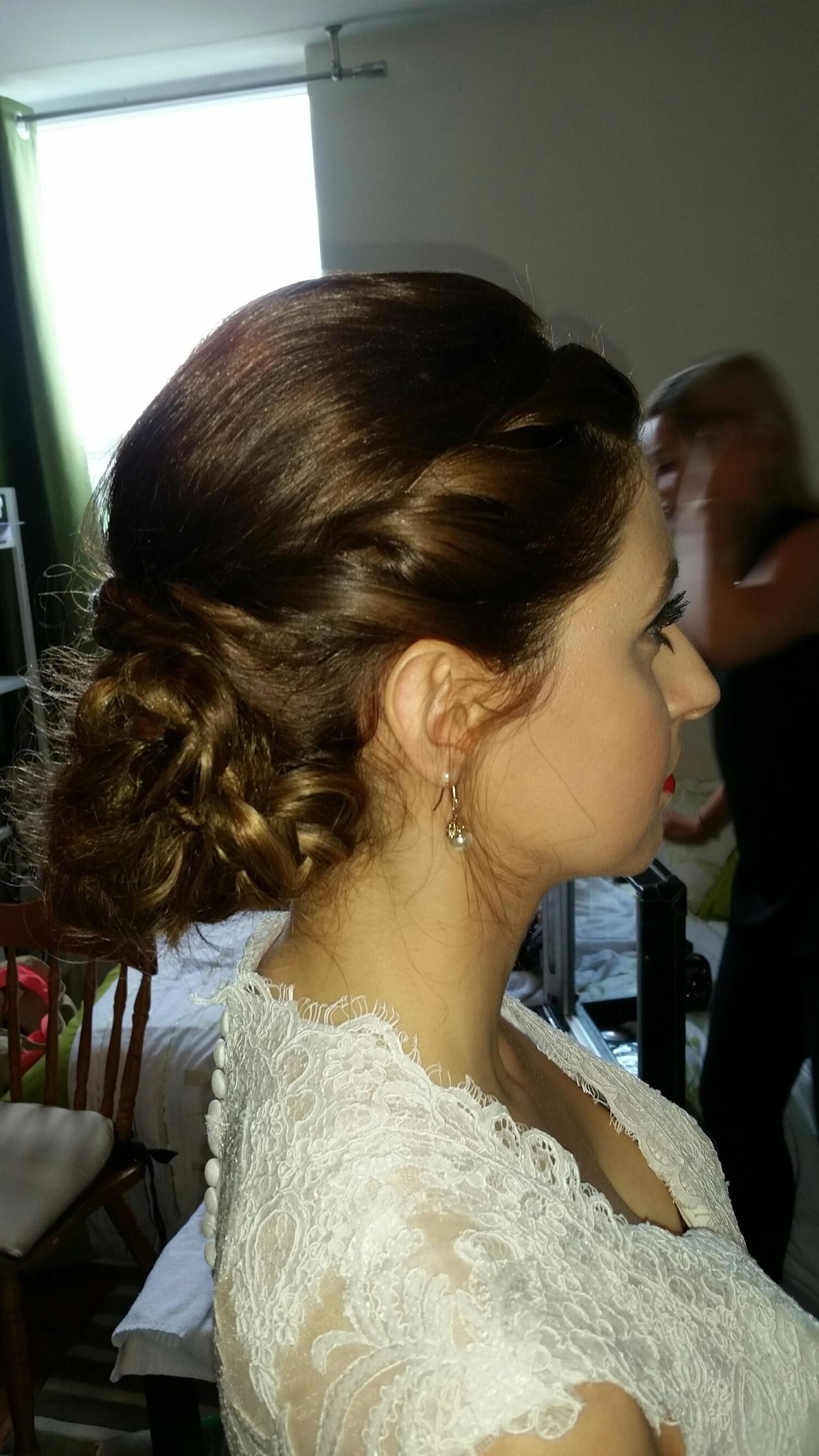 Side View Bridal Hair