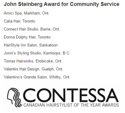 Semi-Finalists for the Contessas!