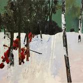 Troops in snow