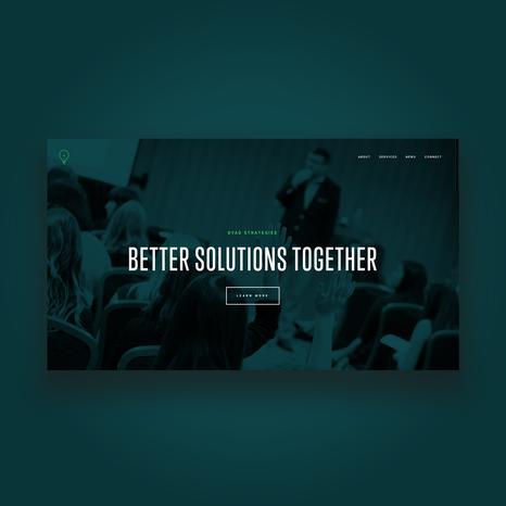 Dyad Strategies Website Refresh